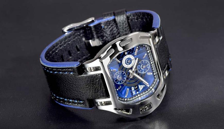 Wryst schweizer uhren Hightech-Case-Design wurde von Designer Jacques