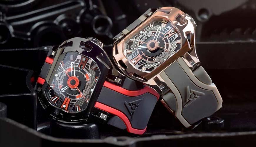 Reloj automático de lujo Wryst RACER Suizo solo se produce limitada