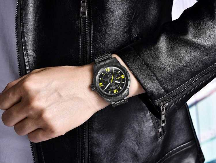 Relojes negros Wryst para hombre Ultimate