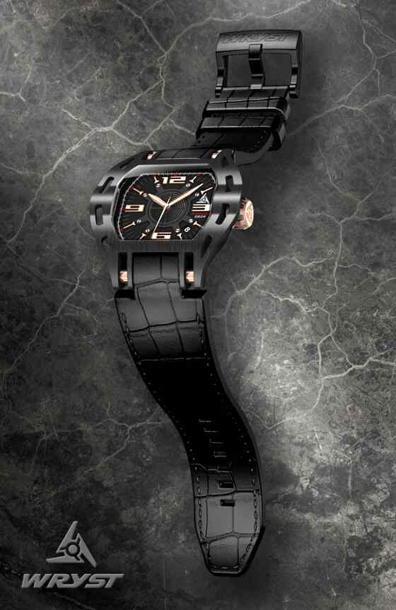 automatic luxury black motorsport swiss watch