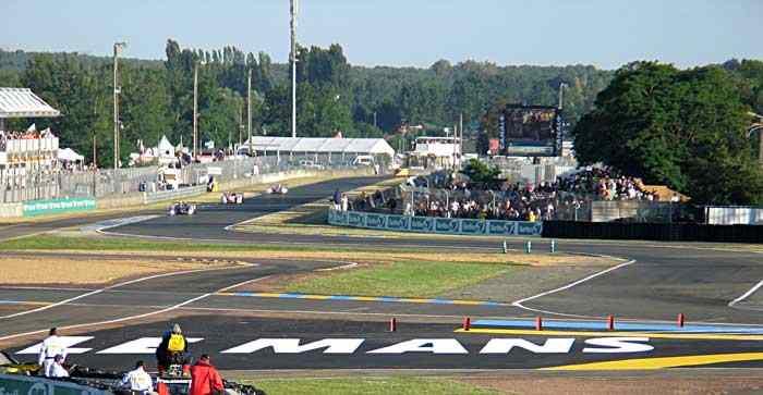 Circuit de la Sarthe car crash motorsport