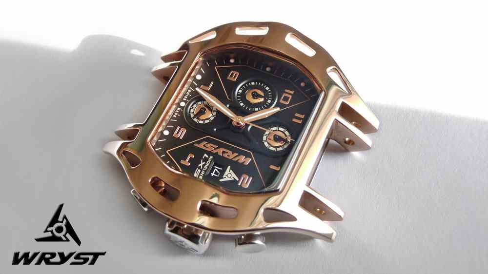 Luxury Swiss Rose Gold Watch