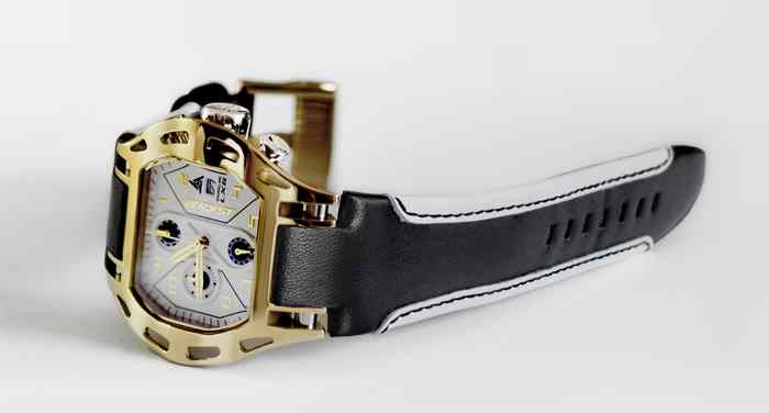 Luxus Gold Sportuhr swiss made