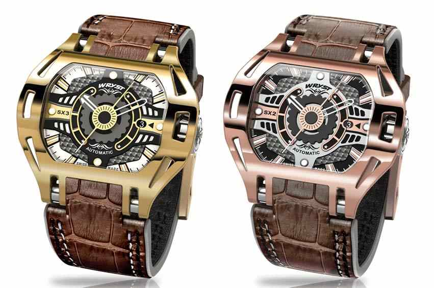 Automatic Gold Watch for Men