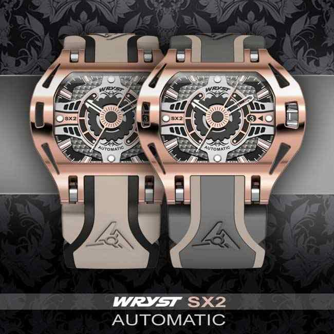 Montre automatique Or rose Wryst SX2