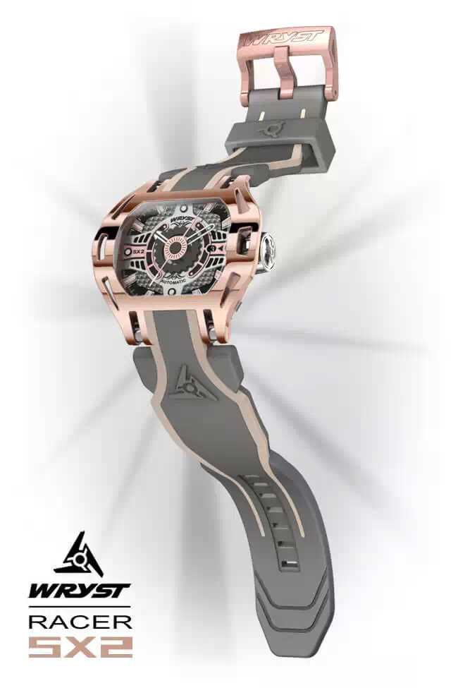 Montre Automatique Or Rose Suisse