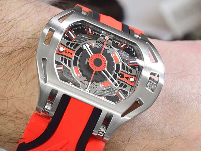 Automatic Wristwatch Wryst Racer