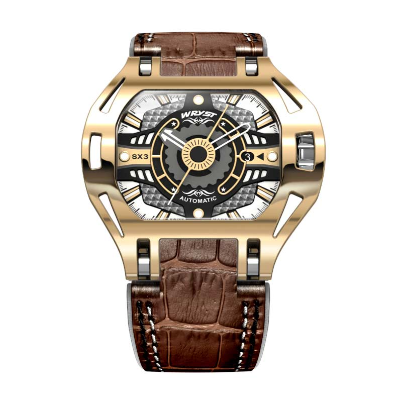 Gold Luxury Expensive Watches Automatic