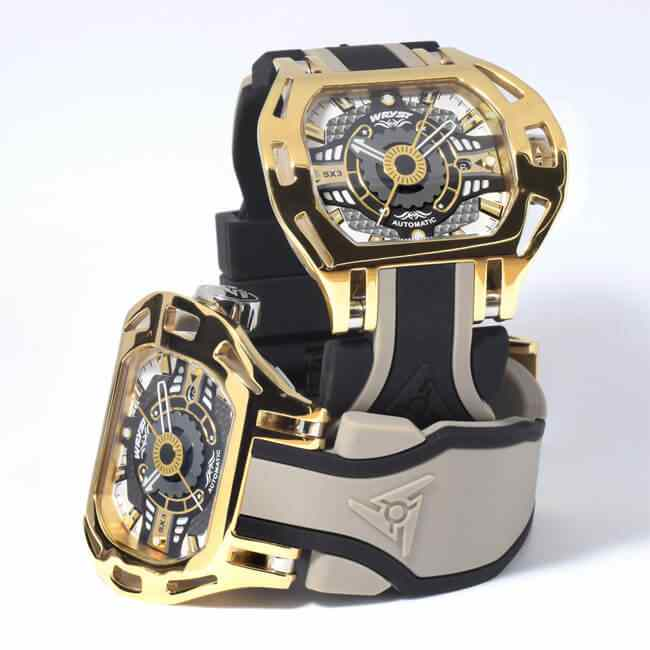 Montre automatique Or jaune Luxe Suisse