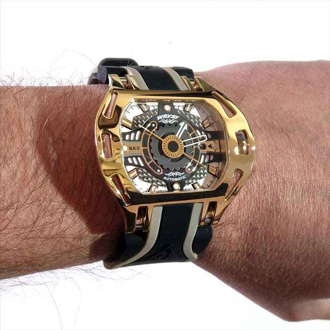 Luxury Automatic Watch Wryst Racer