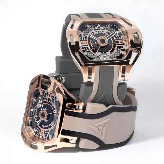 Luxury Swiss Automatic Rose Gold Watch