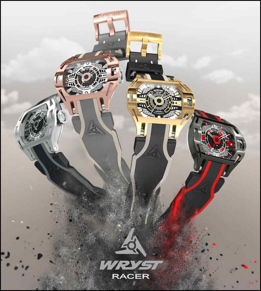 New Automatic Watch 2018 Wryst Racer