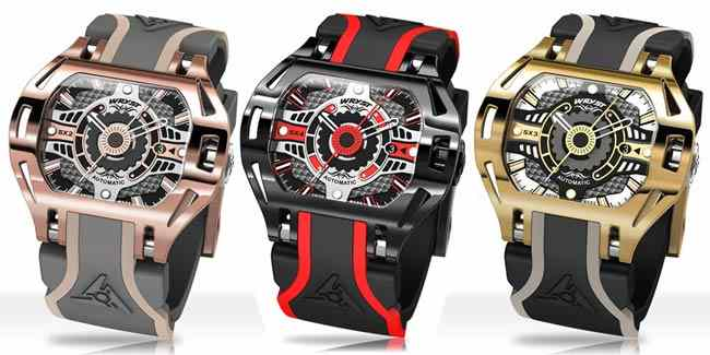 Luxury Automatic Swiss Watches Wryst Racer