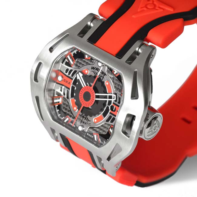 Red Automatic Watch