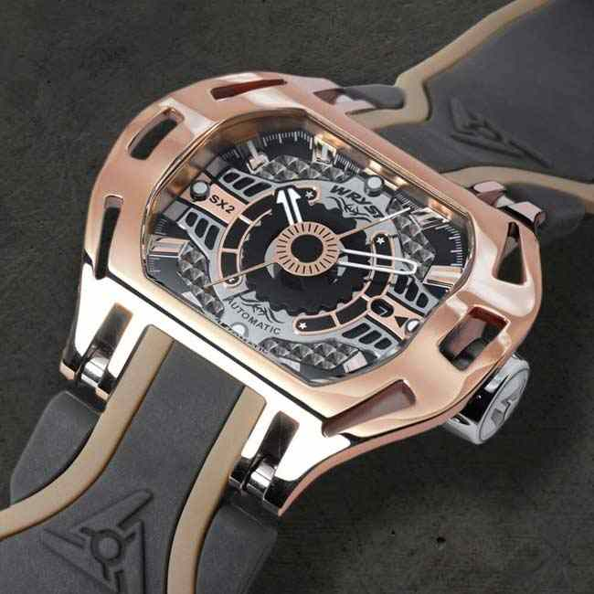 Rose Gold Automatic Watch Wryst SX2