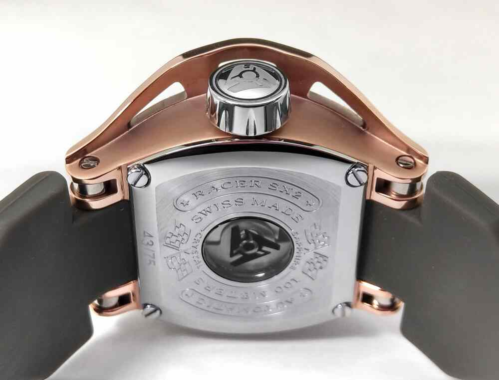 Swiss Automatic Rose Gold Watch