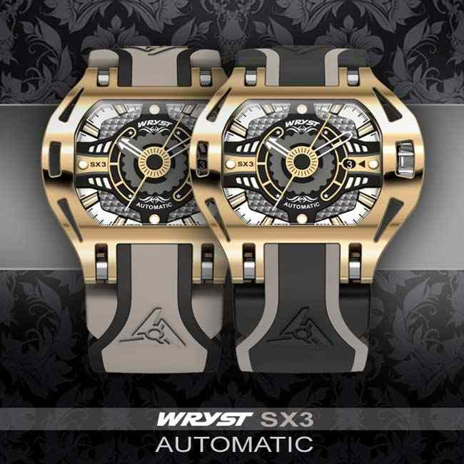 Wryst Gold Automatic Watch