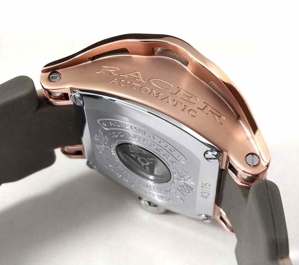 Watch case side engraving