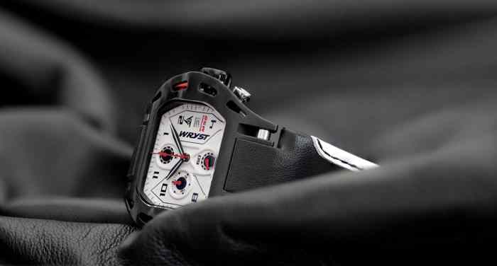 best black sport watch swiss made white dial