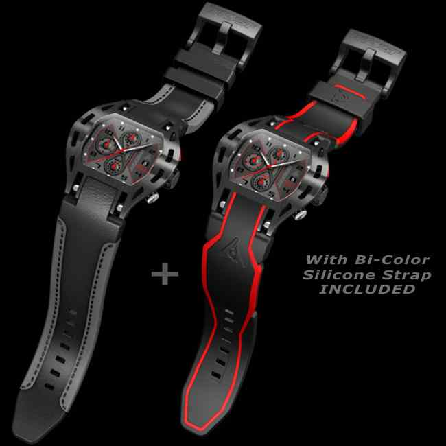 Best Men Sport Watch Black DLC Swiss Made Limiited Edition