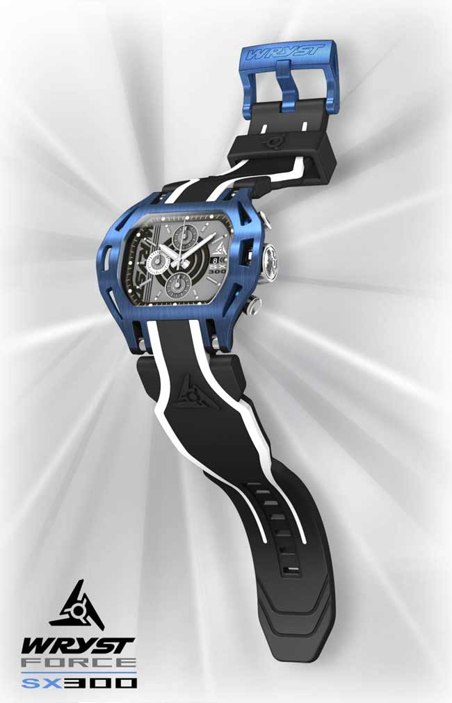 Blue Sports Watch