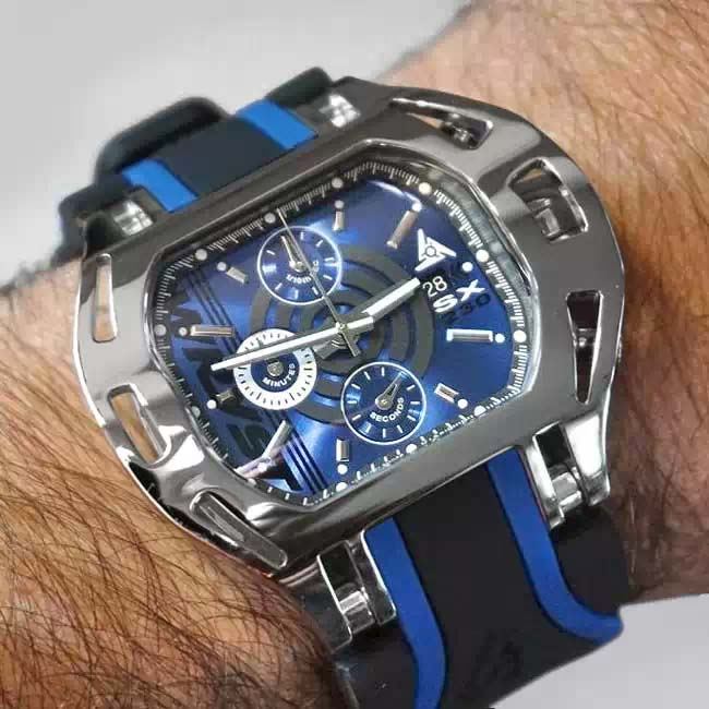 Chronograph Watches for Men Wryst Force