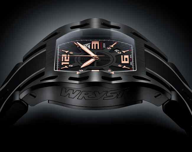 black luxury sport watch