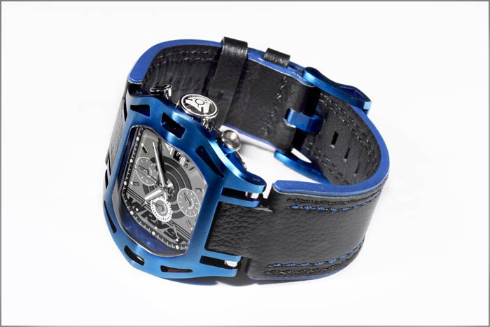 Neuesten Blue Watch Swiss Made SX300 Chronograph