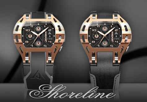 Swiss Watch Rose Gold Limited Edition