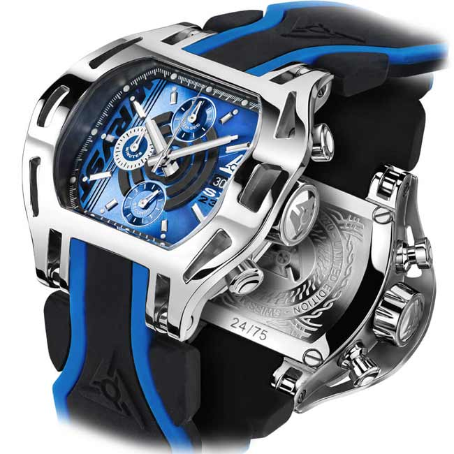 Sapphire Crystal Luxury Swiss Watch