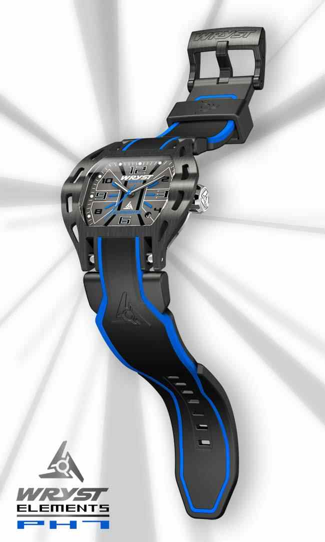 Cool Wryst Elements PH7 blue watches