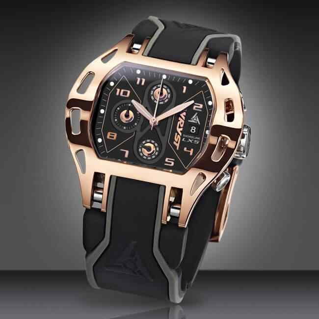Luxury Rose Gold Swiss Sports Watch
