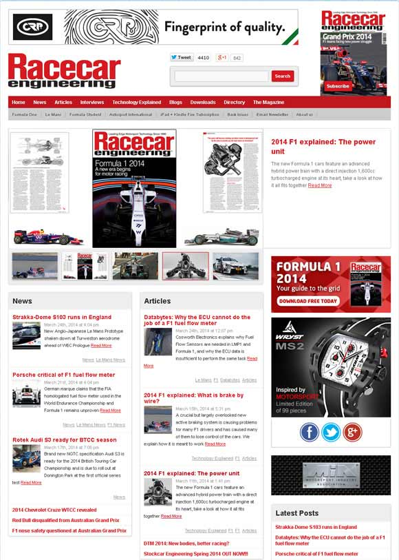 world's leading motorsport formula 1 technology magazine