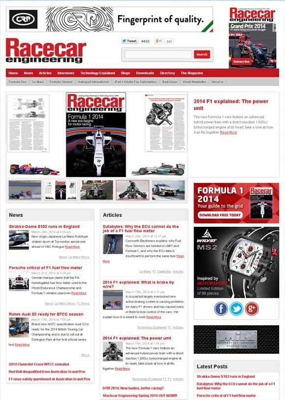 world's leading motorsport formula 1 technology magazine