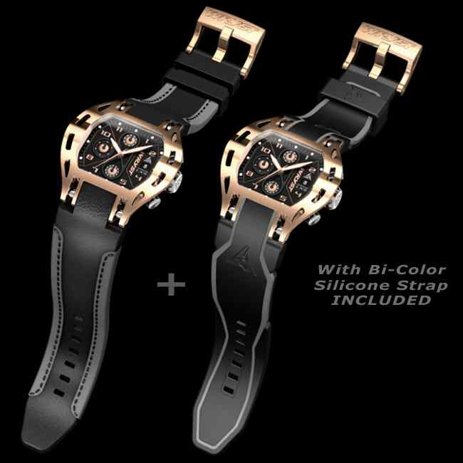 Wryst Luxury Sports Watch Swiss Made Rose Gold Plating