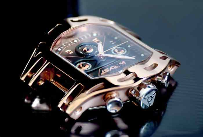 Rose Gold Sport Watch LX5