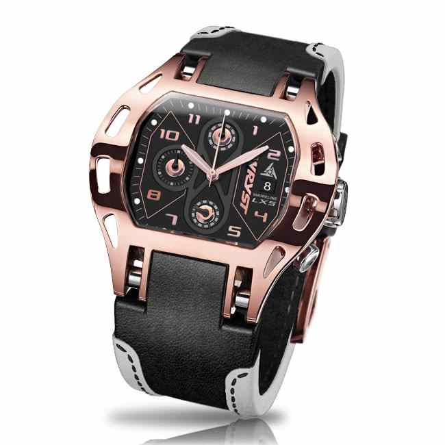Rose Gold Swiss Watch