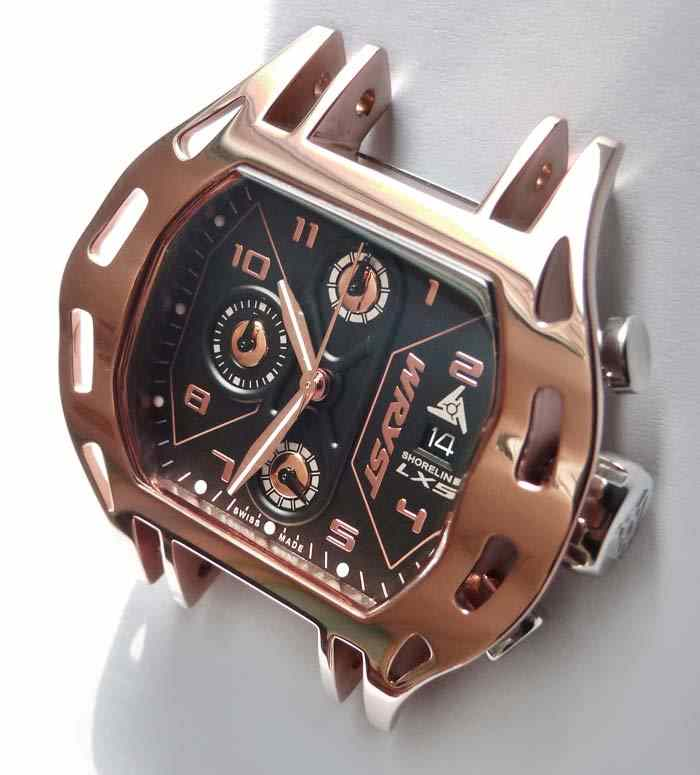 Rose Gold Sport Watch Polished