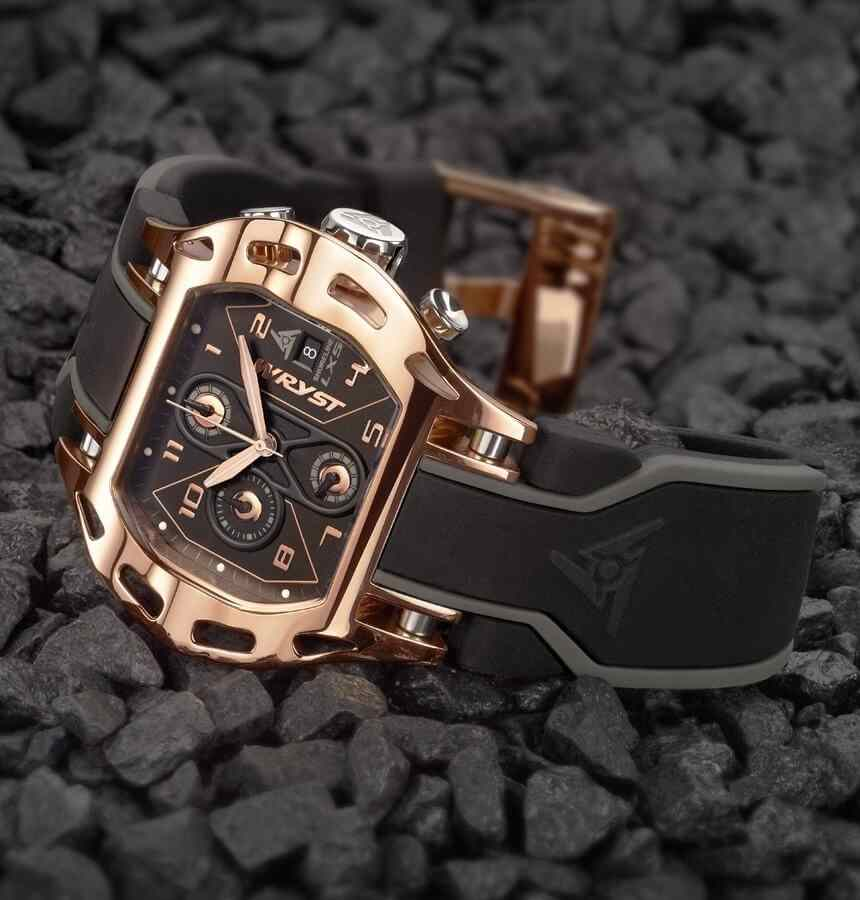 Rose Gold Sport Watch