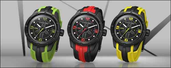 black swiss sport watch