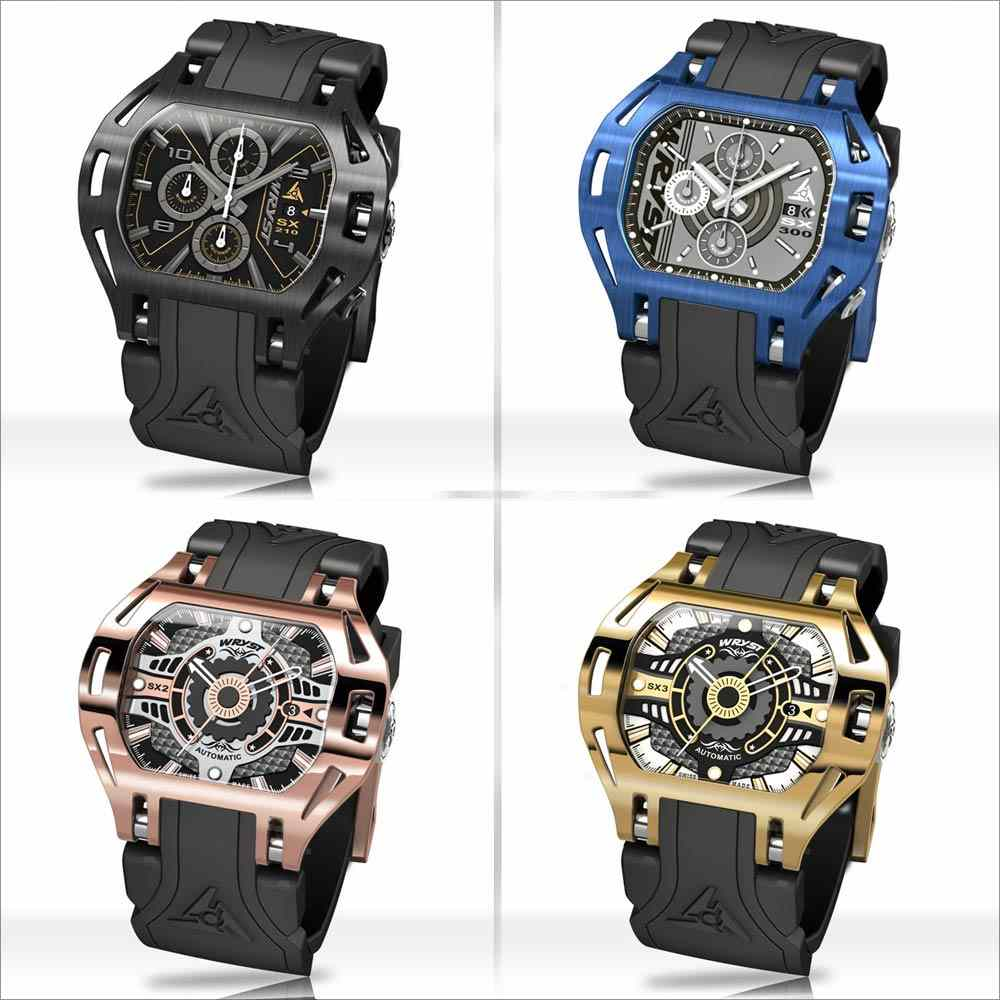 Automatic Black Luxury Watch Wryst