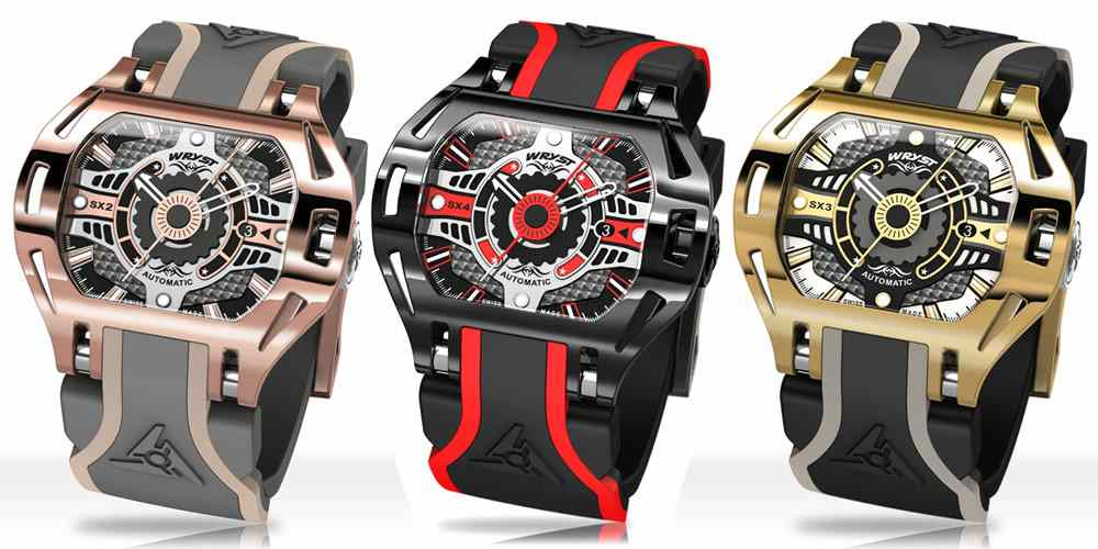 Automatic Racing Sports Watch Wryst