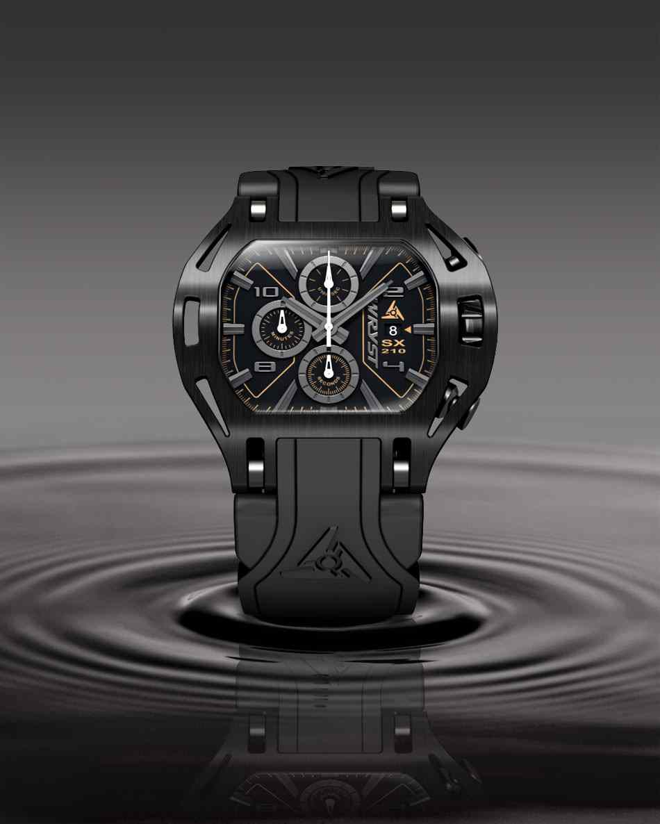 Wryst Best Black Luxury Watch for Sports