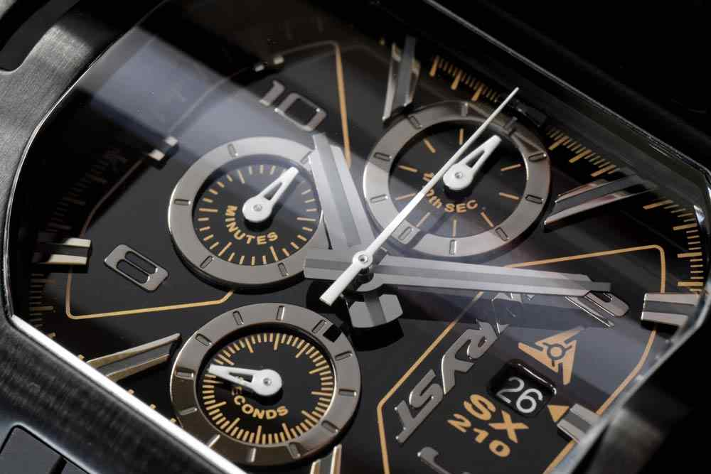 Wryst Black Luxury Watch Chronograph