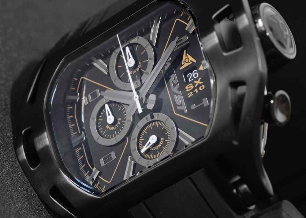 Black Luxury Watch for Men Wryst