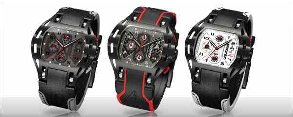 Black Racing Sports Watches