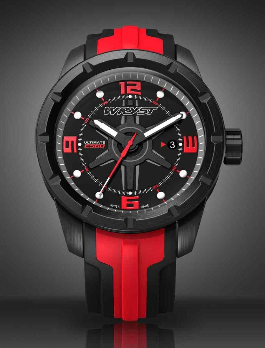 Black Swiss Watch