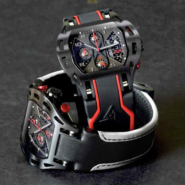 Carbon Fiber Watch for Racing Sports