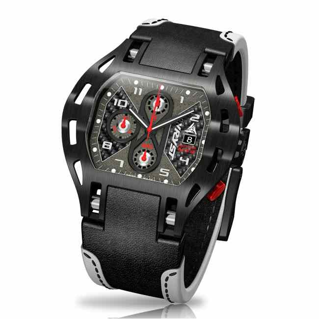 Luxury Swiss Carbon Fiber Watch