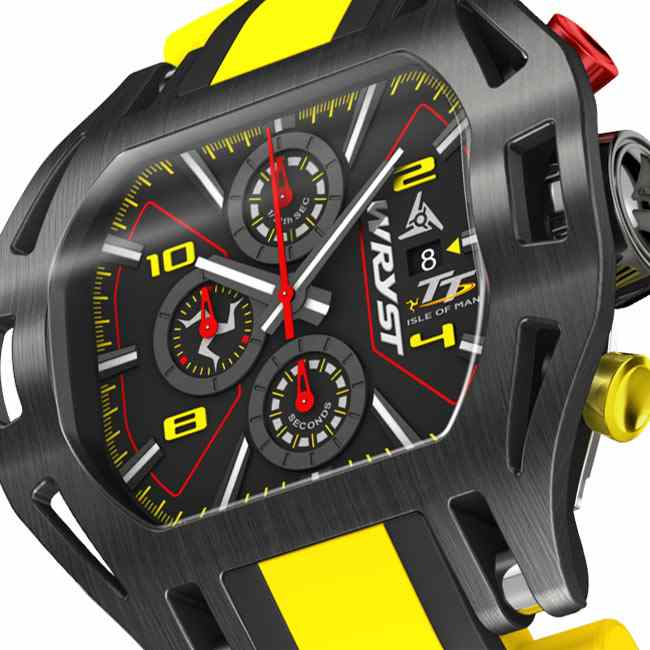 Isle of Man TT Swiss Chronograph Watch Wryst